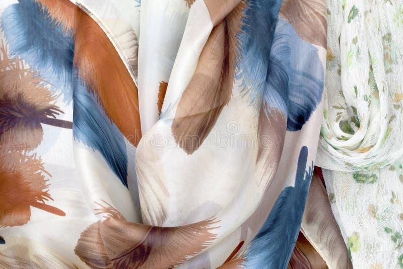 Jedwabniczy szalik obraz stock