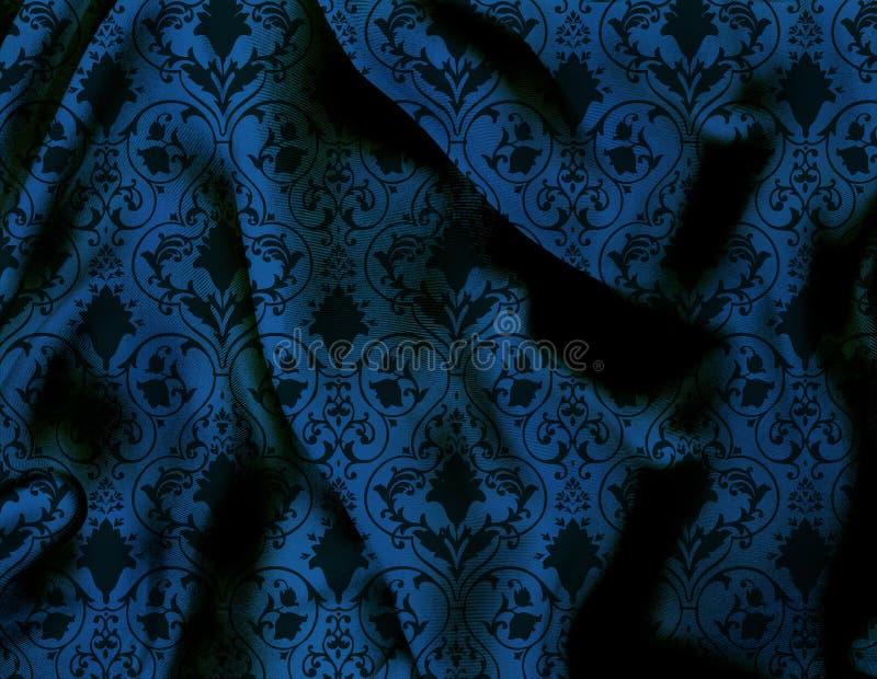 jedwabniczy wiktoriański ilustracja wektor