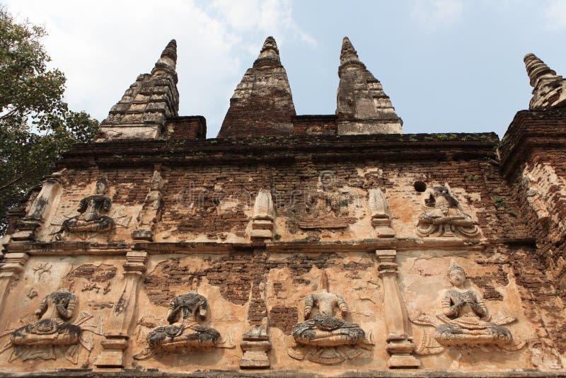 Jedyod Temple3 arkivfoton