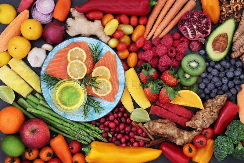 Jedzeń Kierowi zdrowie na dobre fotografia royalty free