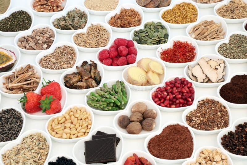Jedzeń Plciowi zdrowie na dobre obrazy stock