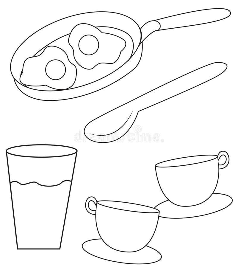 jedzenia royalty ilustracja