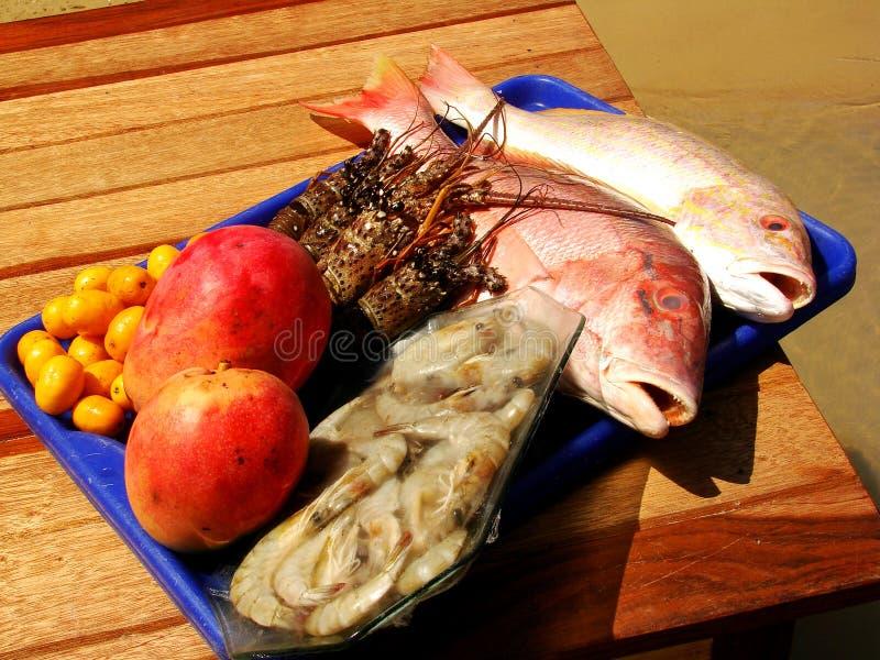 jedzenia ryb morza obrazy royalty free