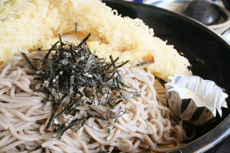 jedzenia tempura soba ulice noodles obrazy royalty free