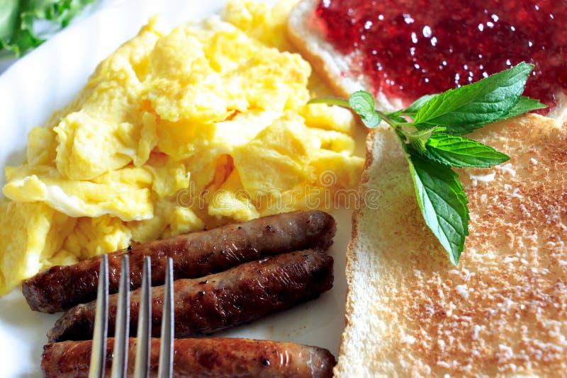 jedzenie śniadania obraz royalty free