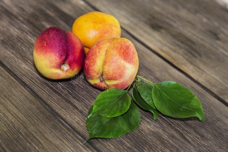 Jedzenie, świeża owoc, słodki deser Trzy dojrzała świeża witamina soczysta fotografia royalty free