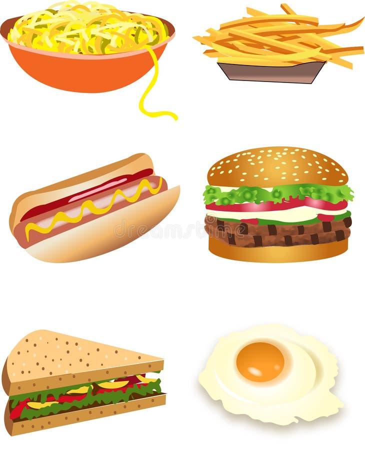 jedzenie. ilustracji