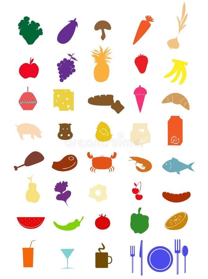 jedzenie ilustracja wektor