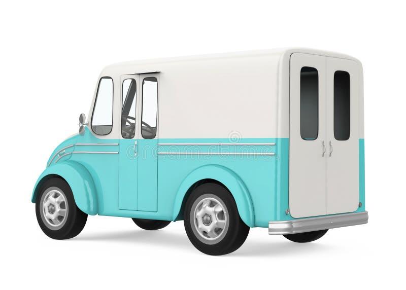 Jedzenie ciężarówka Odizolowywająca ilustracja wektor