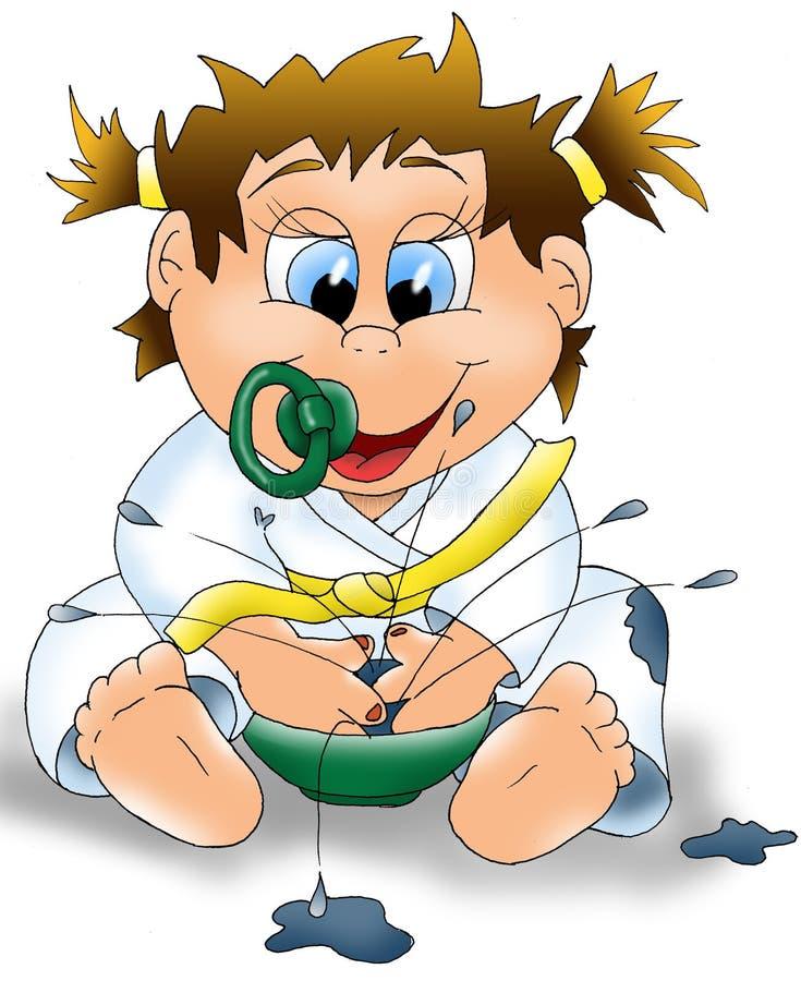 jedzenie dla dzieci ilustracja wektor