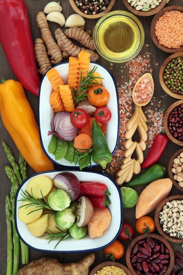 Jedzenie Dla Zdrowego łasowania zdjęcie stock
