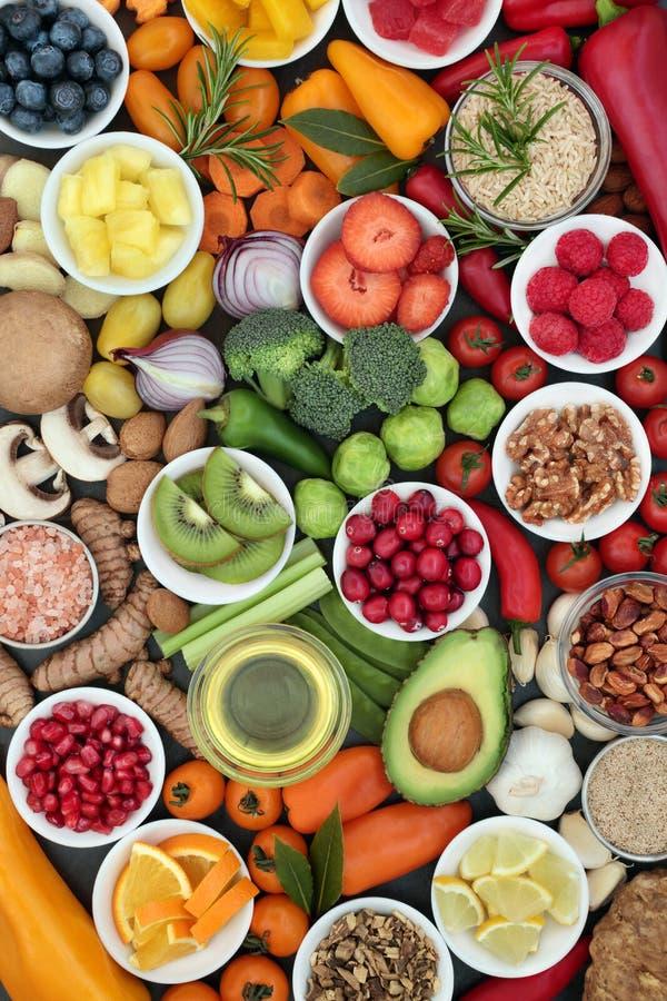 Jedzenie Dla Zdrowego łasowania fotografia royalty free
