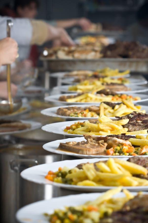 jedzenie kuchennych obrazy stock