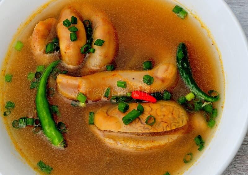 Jedzenie od Filipiny, polewka liczba 5, zdjęcie stock
