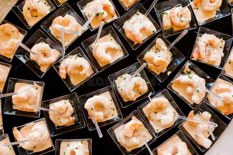 Ślubny cateringu jedzenie obrazy royalty free
