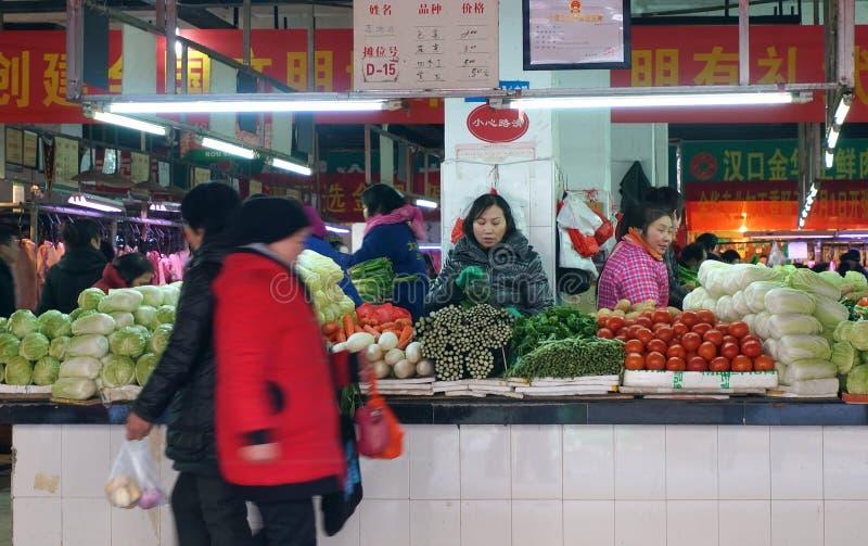 Jedzenie rynek obrazy royalty free