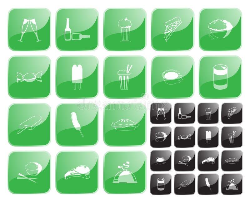 jedzenie symbol2 wektora royalty ilustracja
