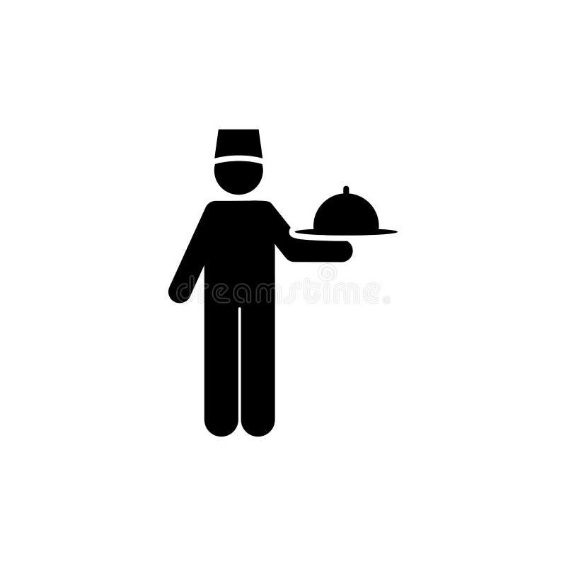 Jedzenie, usługi, hotel, kelner ikona Element hotelowa piktogram ikona Premii ilo?ci graficznego projekta ikona podpisz symboli ilustracja wektor