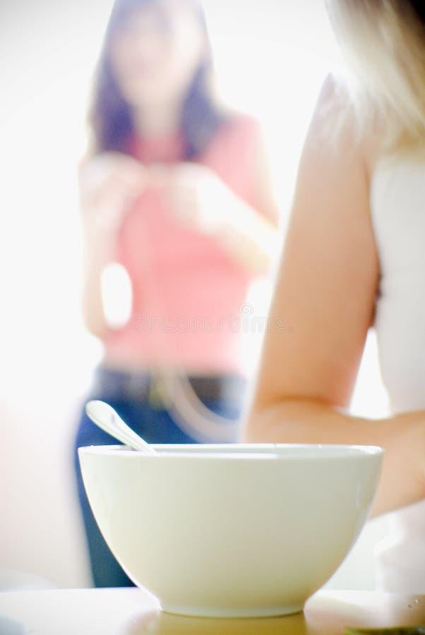 jedzenie zupy zdjęcie royalty free