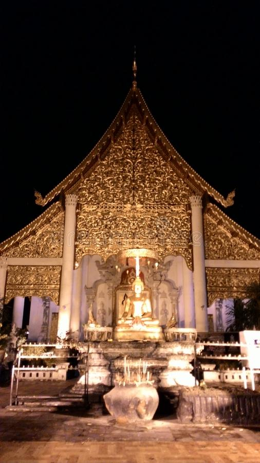 Jeediluang-Tempel stockfotografie