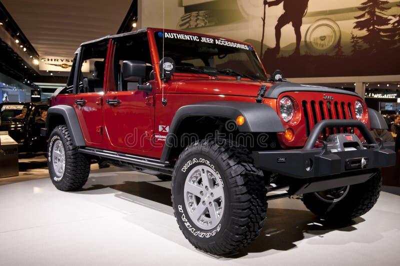 Jeep 2011 al NAIAS immagine stock libera da diritti
