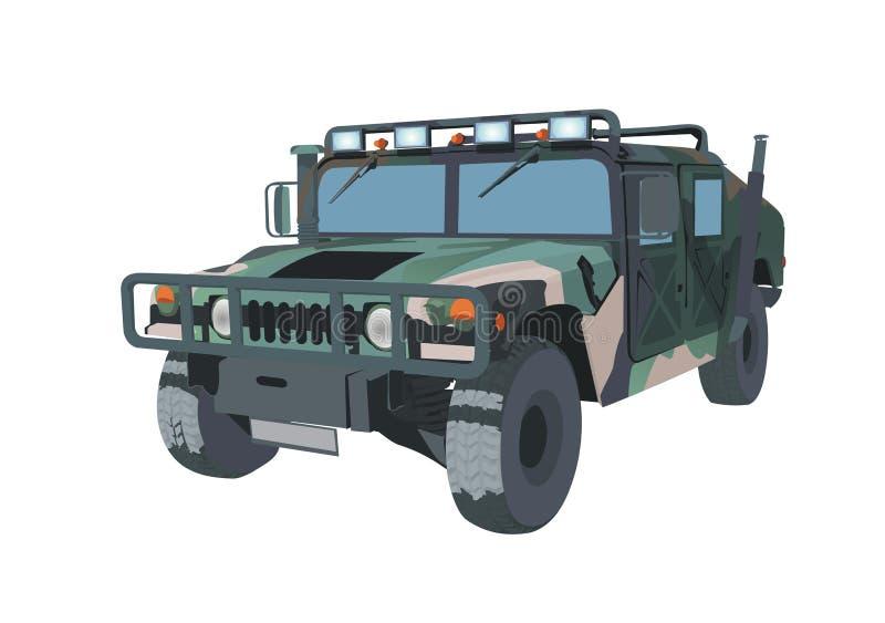 jeep vektor illustrationer