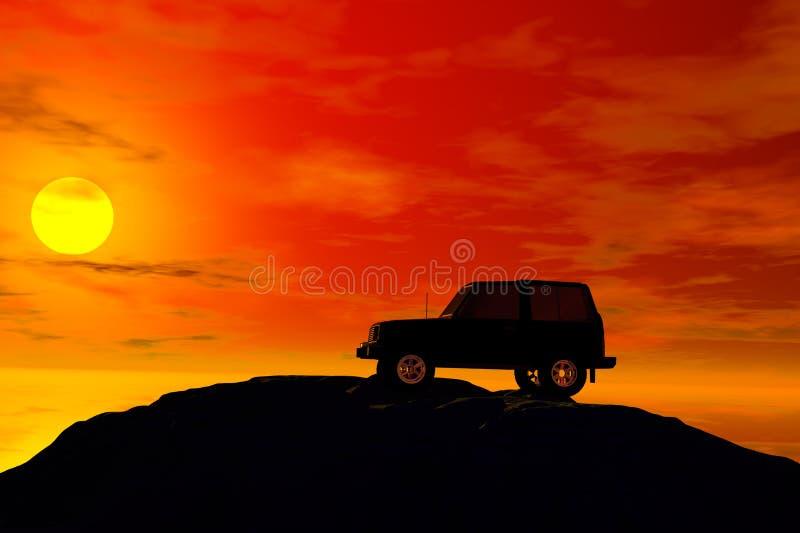 Download Jeep stock illustration. Image of challenge, adventure - 3211186