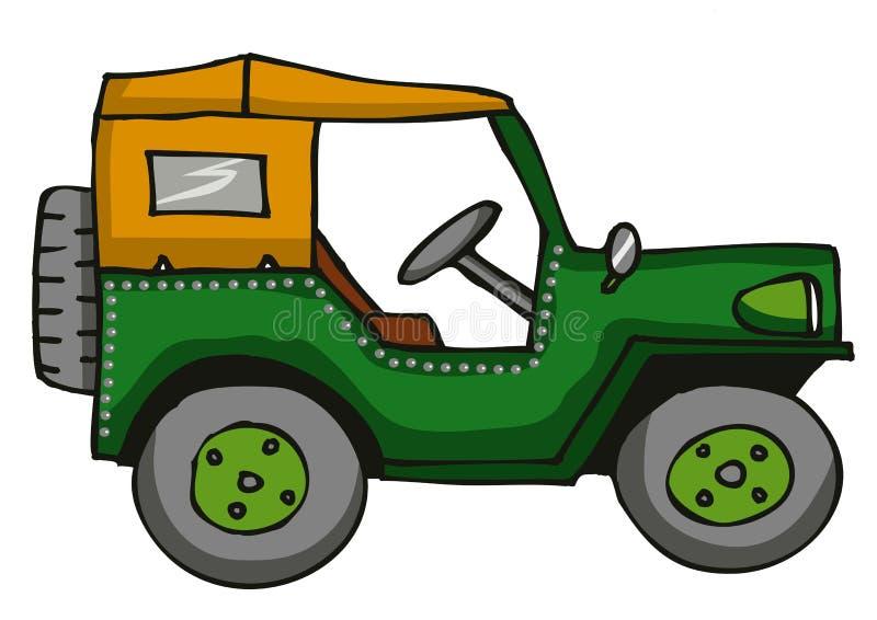 Jeep illustrazione di stock