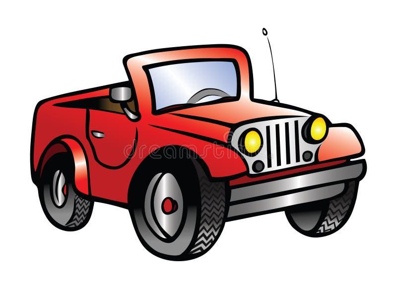 Jeep lizenzfreie abbildung