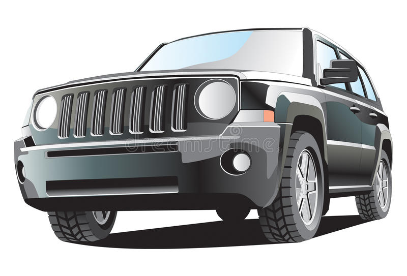 Jeep illustrazione vettoriale