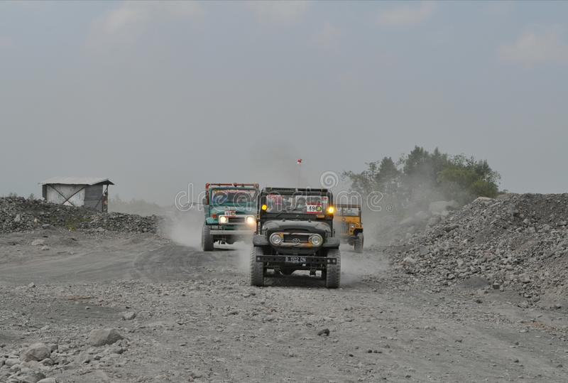 Jeep Adventure stockfotos