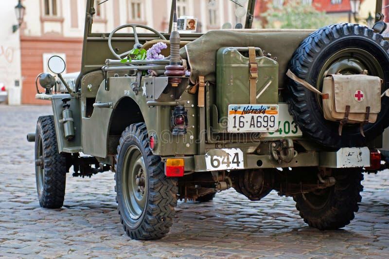 Jeep américaine photos stock