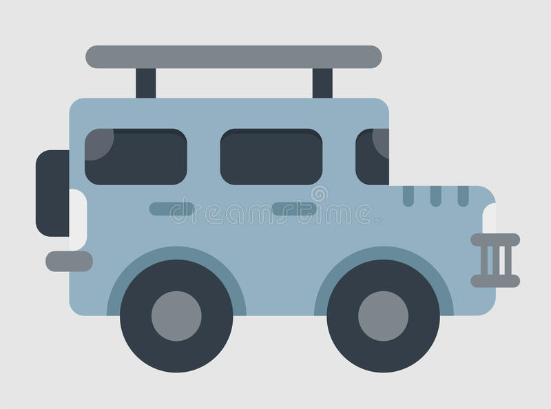Jeep Car Vector stock images