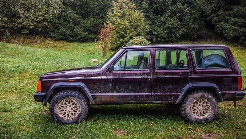 Jeep Cherokee fotografía de archivo