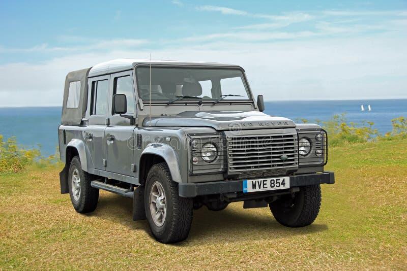 Jeep de défenseur de Land Rover photo stock
