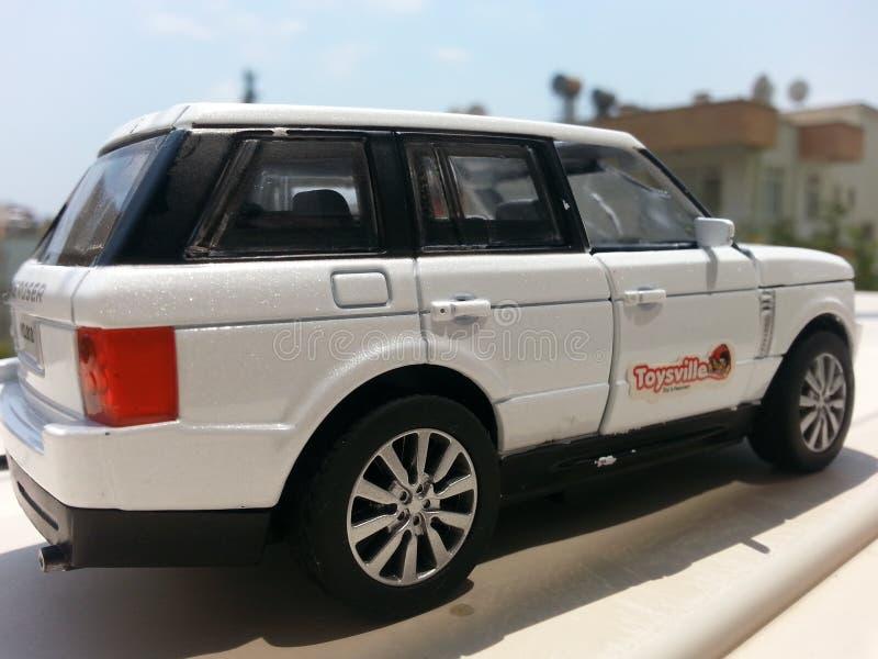 Jeep de jouet image stock