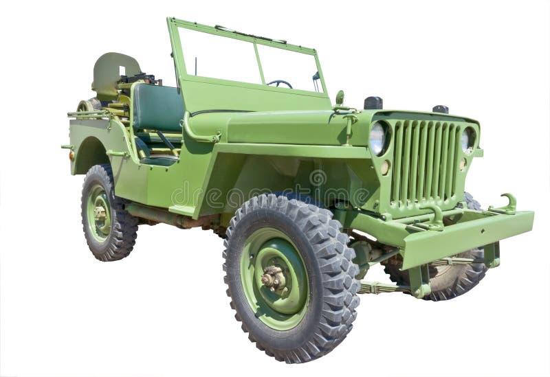 Jeep de l'armée américaine photo libre de droits