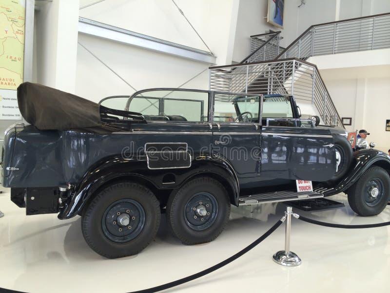 Jeep de la Segunda Guerra Mundial imagen de archivo