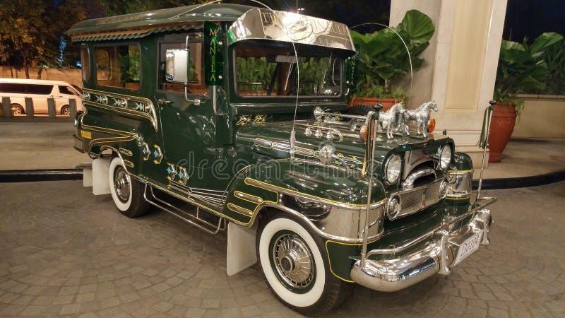 Download Jeep de Manille photo éditorial. Image du course, péninsule - 87707446