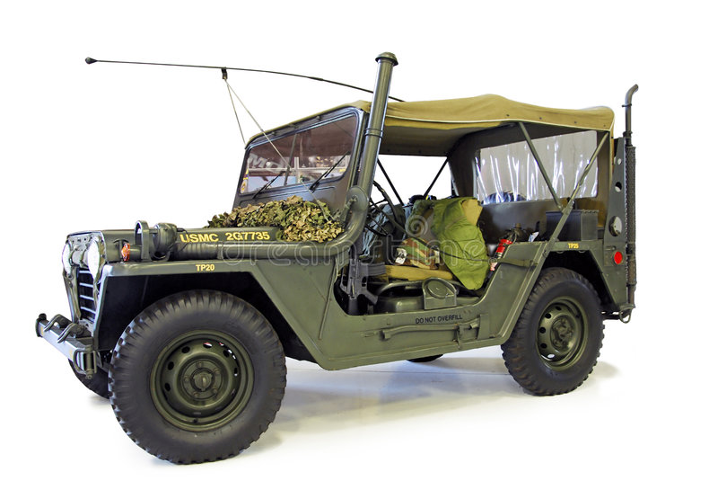 Jeep de Willys imagenes de archivo