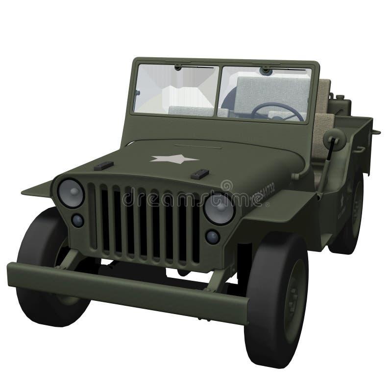 Jeep dell'esercito di guerra mondiale 2 royalty illustrazione gratis
