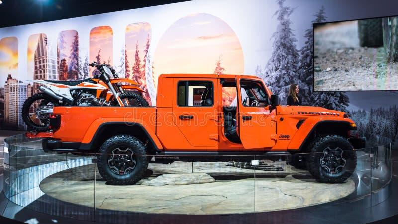 2020 Jeep Gladiator stock foto's