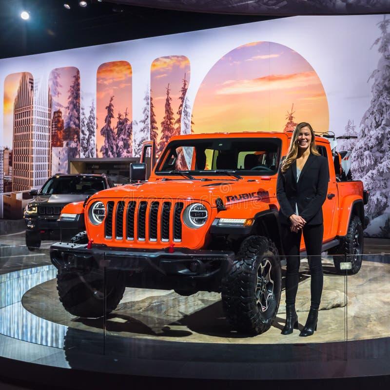 Jeep Gladiator 2020 fotos de stock