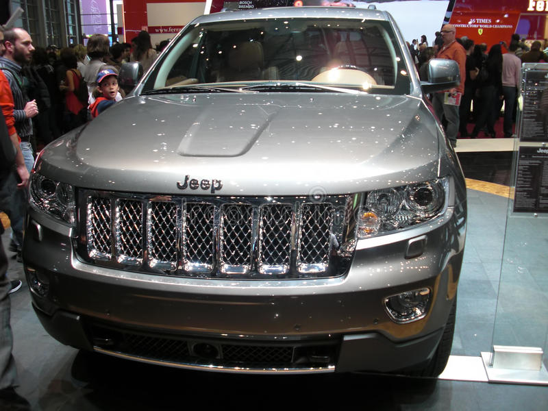 Download Jeep Grand Cherokee editorial stock image. Image of elite - 18858944