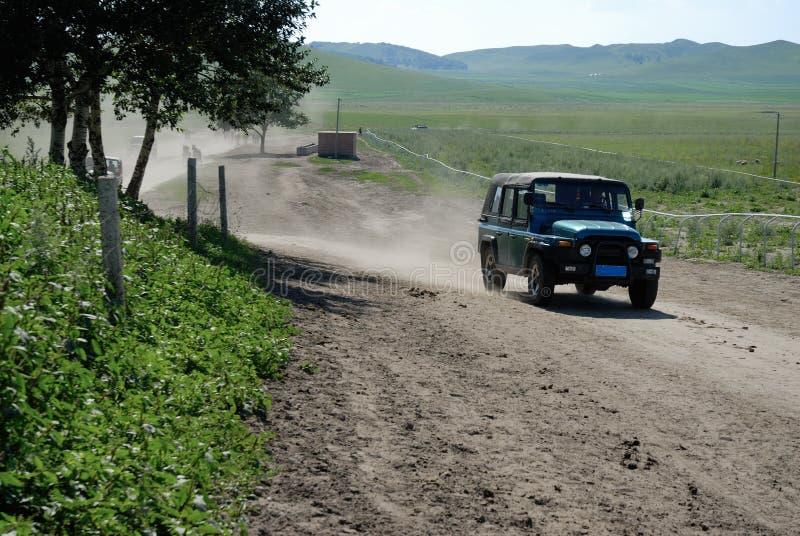 jeep kierowcy road zdjęcia royalty free