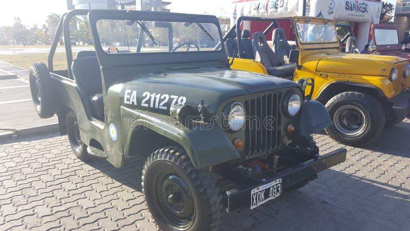Jeep militare fotografie stock libere da diritti