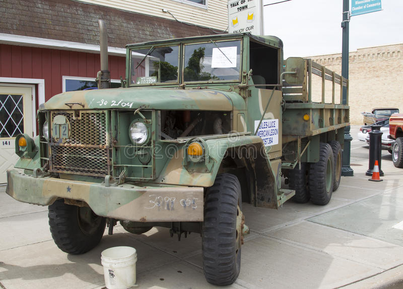 Jeep Military Truck 1971 fotografie stock