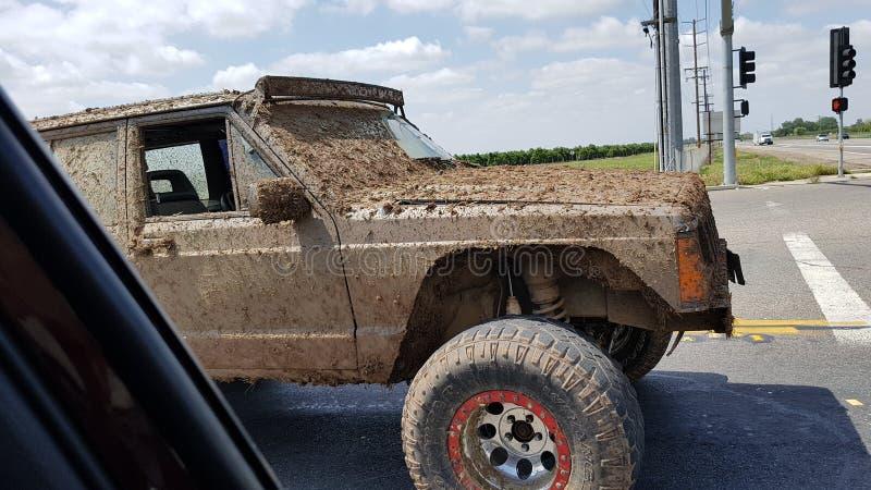 Jeep modifiée images libres de droits
