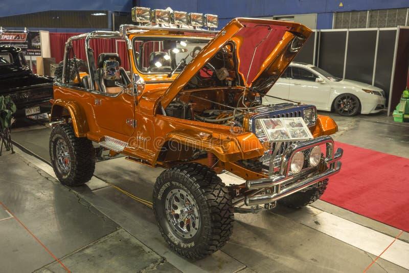 Jeep modificata immagini stock libere da diritti