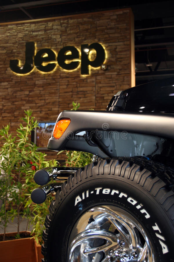 Download Jeep at a Motor Show editorial stock photo. Image of show - 20124198